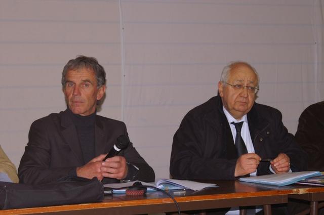 Guy Sevessand et Jean-Pierre Vial