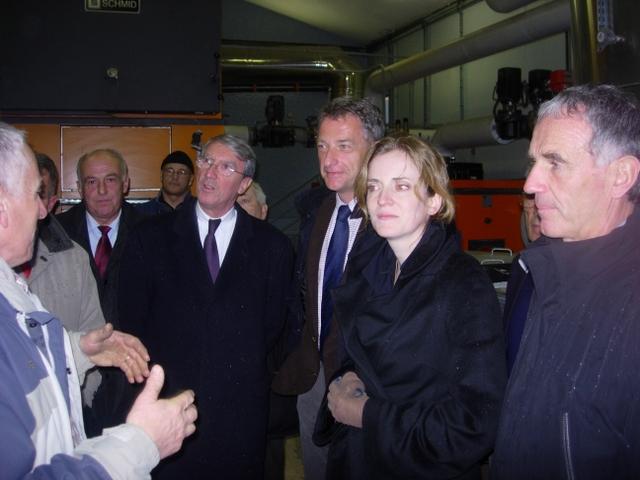 Visite de la Ministre Nathalie Kosciusko Morizet